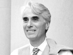 Libertarian philosopher Robert Nozick (1938-2002)